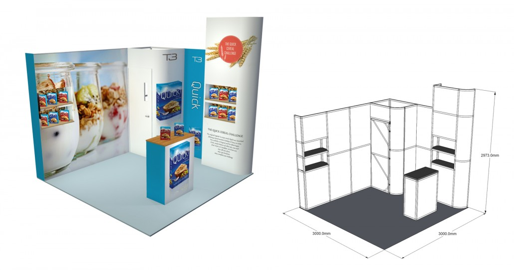 Small Exhibition Stand Sizes : Self build stands self build stands
